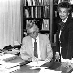 Scott was first woman to hold VP position