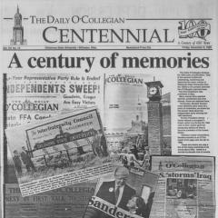 The Daily O'Collegian celebrates 100 years