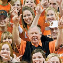 T. Boone Pickens donates largest sum ever received by a university athletic department