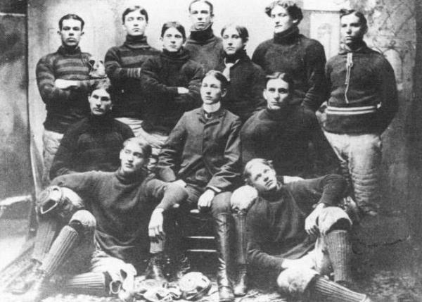 First football team