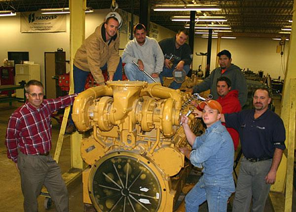 Natural gas compression training starts