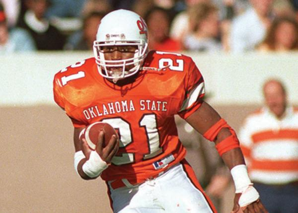 Barry Sanders wins Heisman