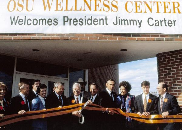 Carter dedicates Wellness Center