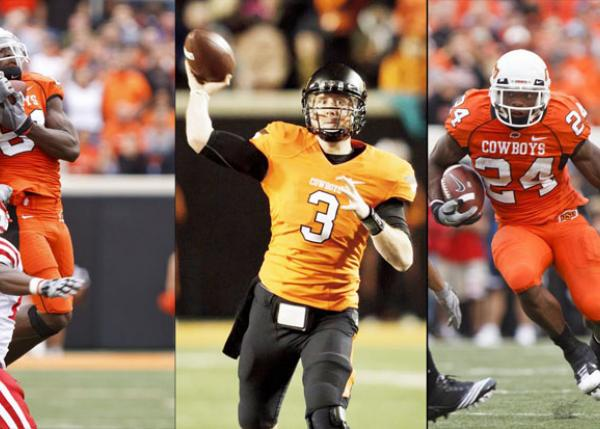 OSU's Triple Threat in football