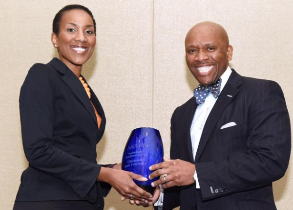 OSU receives excellence award as diversity progress model