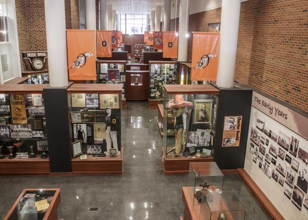 Heritage Hall displays OSU's history