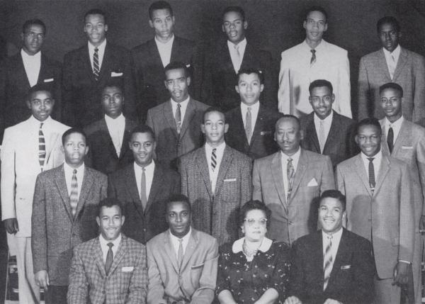 First Black Fraternity on Campus