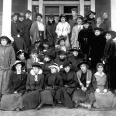 The first sororities and fraternities