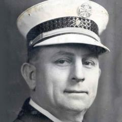 Fire Chief J. Ray Pence