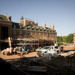 Renovation work starts on the Student Union