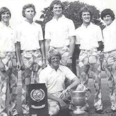 Golf team earns national title