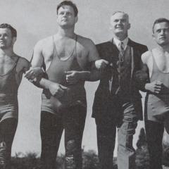 Wrestling champs and Olympic coach