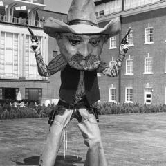 Student makes first Pistol Pete appearance