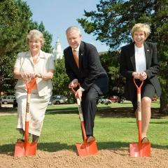 Ground broken on Science Research Building