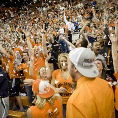 """Gallagher-Iba Arena rated """"rowdiest"""""""