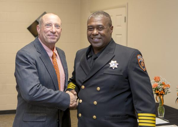 First African American Police Chief